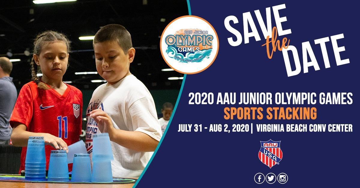 Sports Stacking 2020 AAU Junior Olympic Games