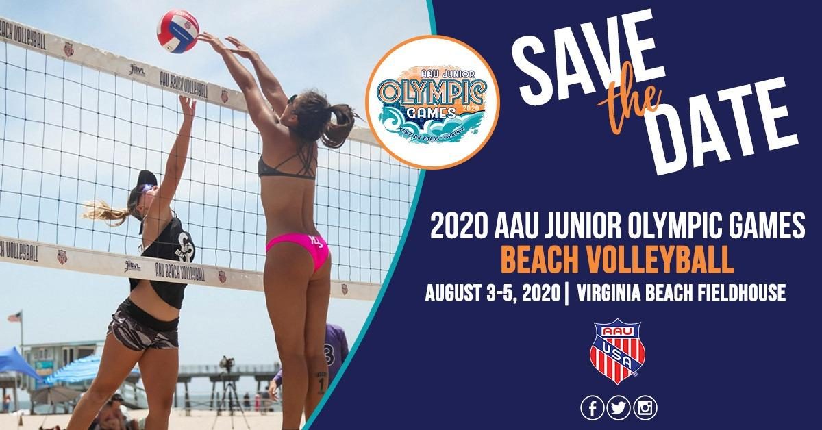 Beach Volleyball 2020 AAU Junior Olympic Games