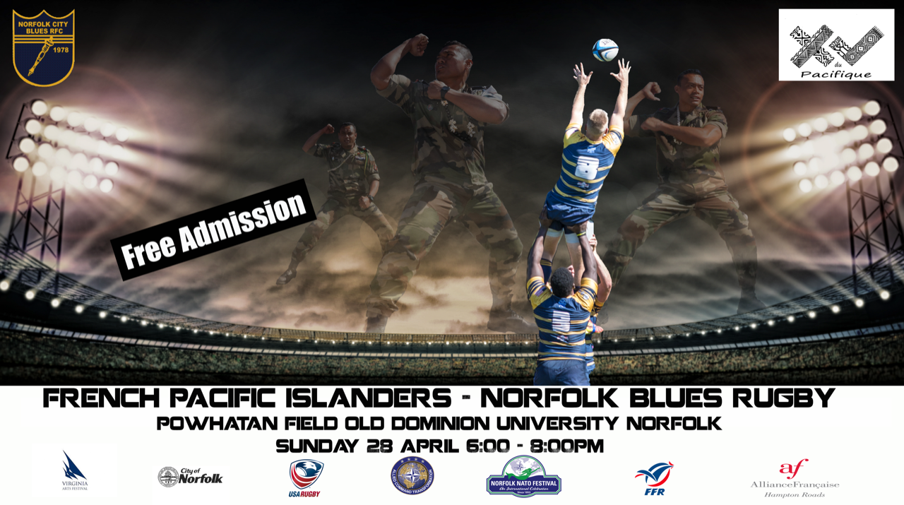 Norfolk Blues Rugby v. French Pacific Islanders