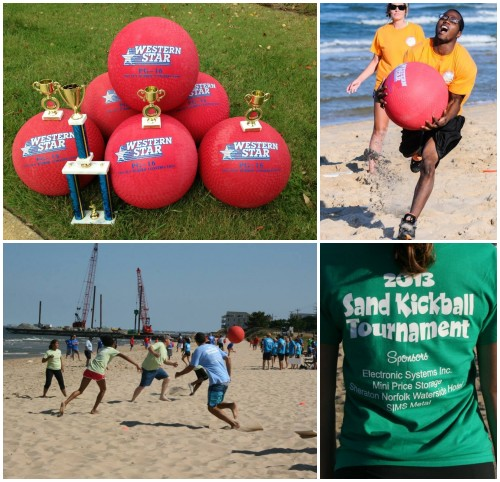 The Hampton Roads Sand Kickball Tournament returns September 18 for its third year!