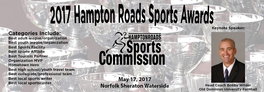 Hear ODU's Bobby Wilder at the 2017 Hampton Roads Sports Awards