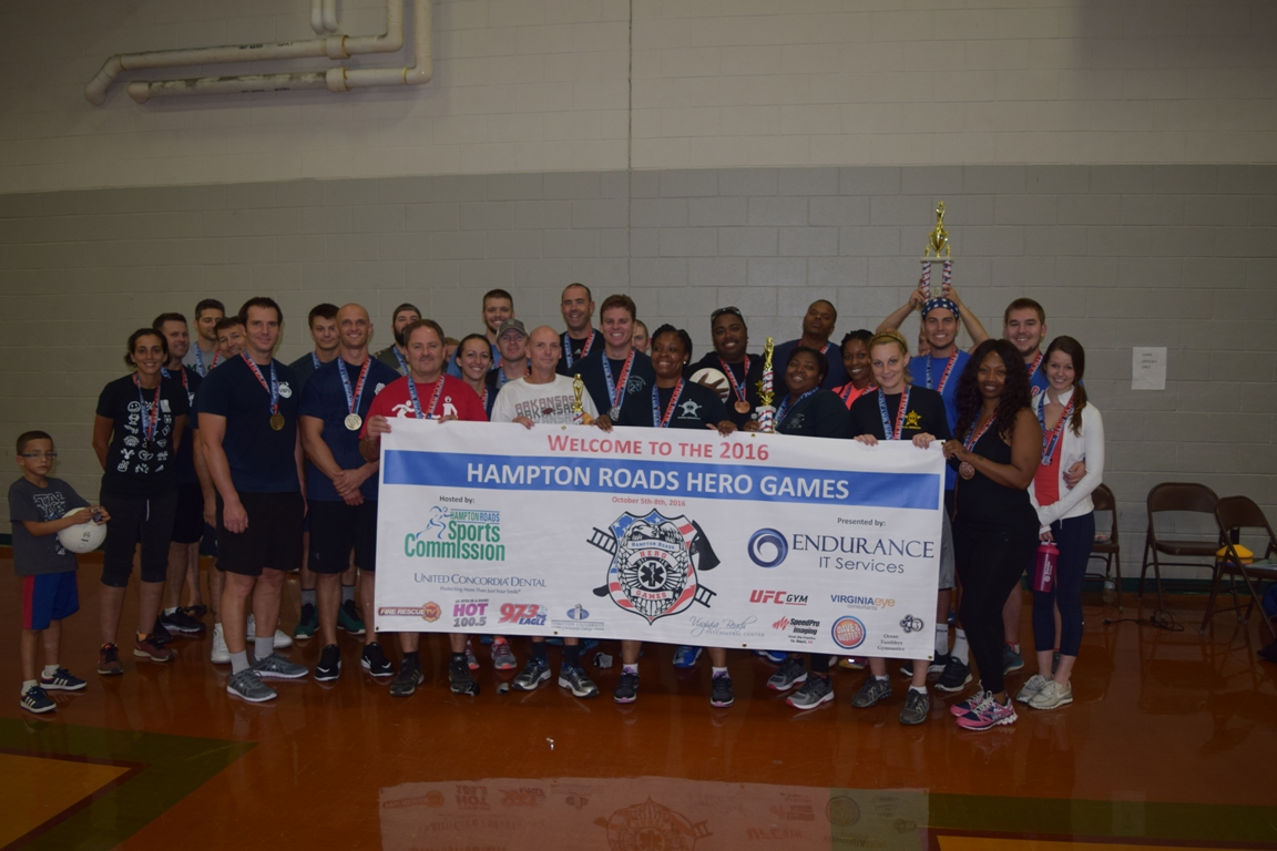 Hampton Roads Sports Commission Successfully Completes 2016 Hero Games
