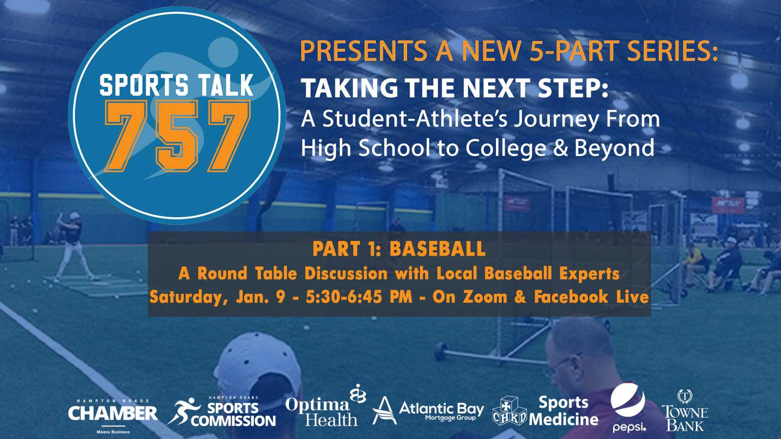 "New Web Series ""Taking the Next Step: A Student-Athlete's Journey from High School to College and Beyond"" Debuts Jan. 9"