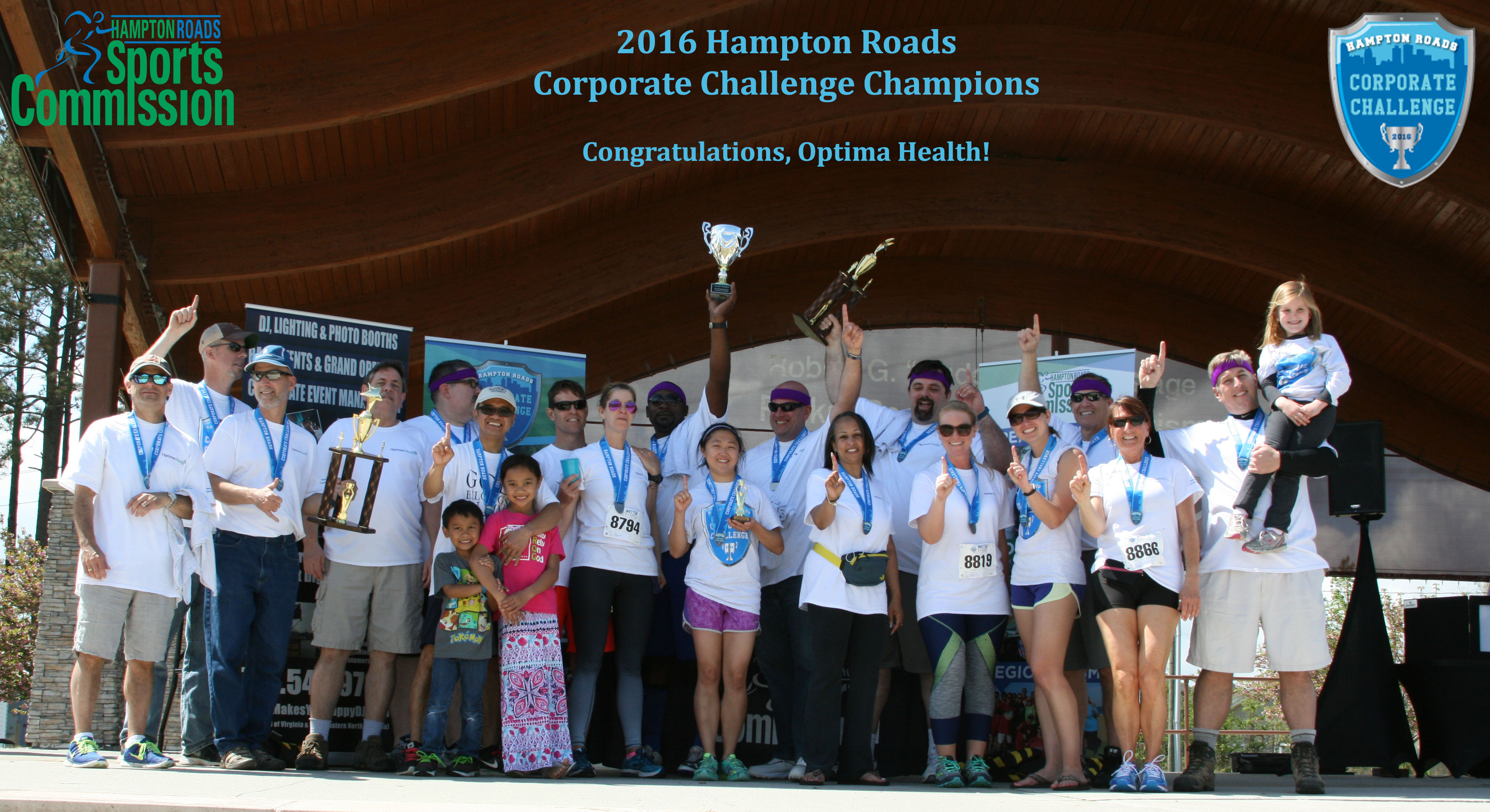Optima Health Crowned Overall Champion in Corporate Challenge