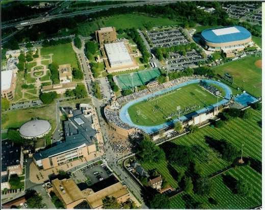 Hampton University's Armstrong Stadium